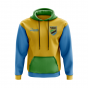 Tanzania Concept Country Football Hoody (Yellow)