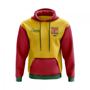 Togo Concept Country Football Hoody (Yellow)
