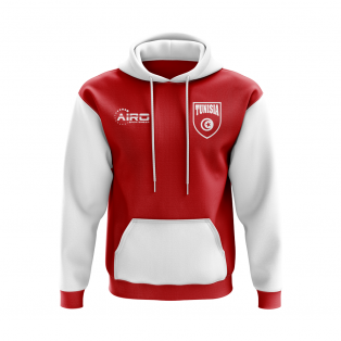 Tunisia Concept Country Football Hoody (Red)