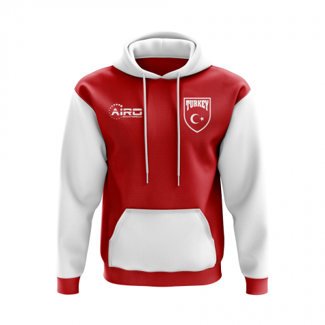 Turkey Concept Country Football Hoody (Red)