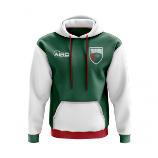 Turkmenistan Concept Country Football Hoody (Green)