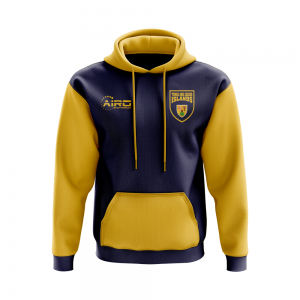 Turks and Caicos lslands Concept Country Football Hoody (Navy)
