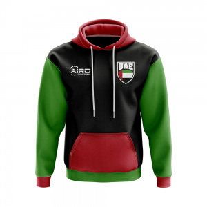 UAE Concept Country Football Hoody (Black)