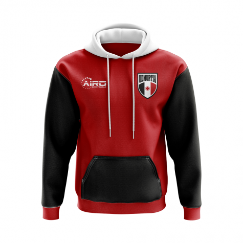 Udmurtia Concept Country Football Hoody (Red)