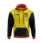 Uganda Concept Country Football Hoody (Yellow)