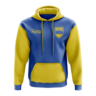 Ukraine Concept Country Football Hoody (Blue)