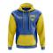 Ukraine Concept Country Football Hoody (Blue)