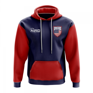 United States Concept Country Football Hoody (Navy)