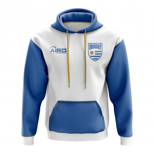 Uruguay Concept Country Football Hoody (White)