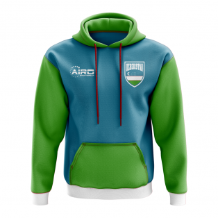 Uzbekistan Concept Country Football Hoody (Sky)