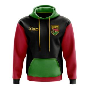 Vanuatu Concept Country Football Hoody (Black)