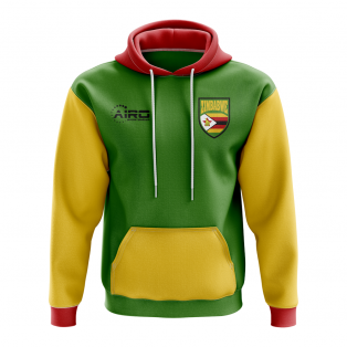 Zimbabwe Concept Country Football Hoody (Green)