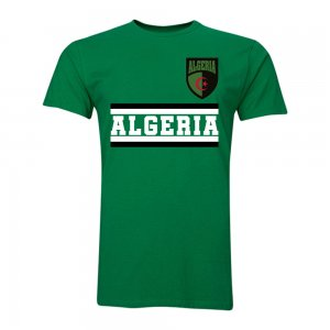 Algeria Core Football Country T-Shirt (Green)