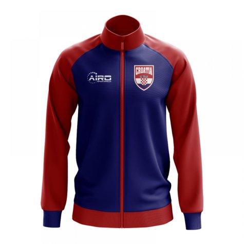 Croatia Concept Football Track Jacket (Navy) - Kids