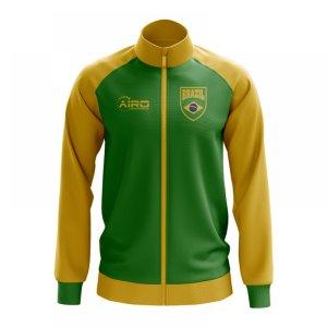 Brazil Concept Football Track Jacket (Green)