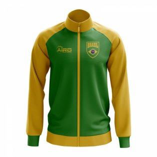 Brazil Concept Football Track Jacket (Green) - Kids