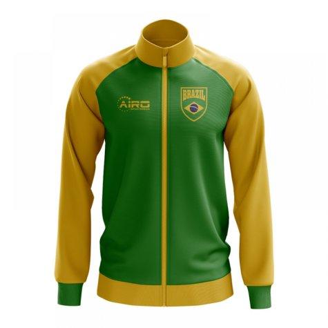 Brazil Concept Football Track Jacket (Green) - Kids