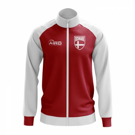 Denmark Concept Football Track Jacket (Red) - Kids