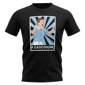 Paul Gascoigne Lazio Legend Series T-Shirt (Black)