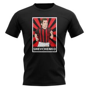 Andrei Shevchenko AC Milan Legend Series T-Shirt (Black)