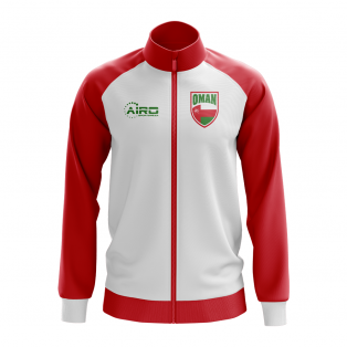 Oman Concept Football Track Jacket (White)