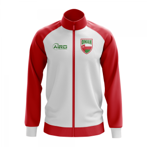 Oman Concept Football Track Jacket (White) - Kids