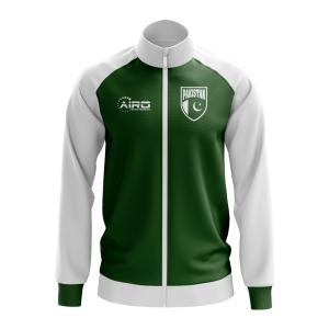 Pakistan Concept Football Track Jacket (Green) - Kids