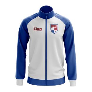 Panama Concept Football Track Jacket (White) - Kids