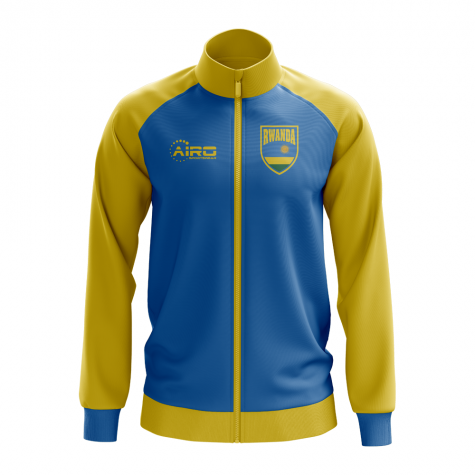 Rwanda Concept Football Track Jacket (Blue) - Kids