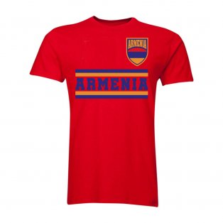 Armenia Core Football Country T-Shirt (Red)