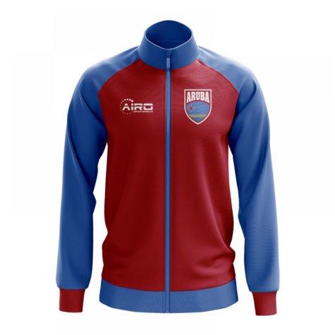 Aruba Concept Football Track Jacket (Red)