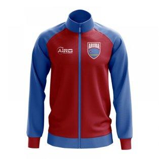 Aruba Concept Football Track Jacket (Red) - Kids