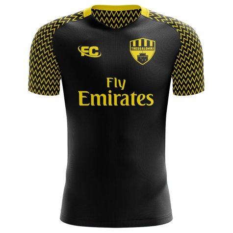 2018-2019 Aris Thessaloniki Home Concept Football Shirt (Kids)
