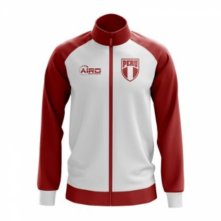 Peru Concept Football Track Jacket (White)