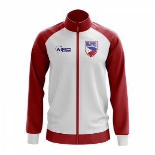Philippines Concept Football Track Jacket (White) - Kids