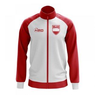 Poland Concept Football Track Jacket (White) - Kids