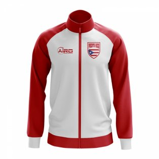 Puerto Rico Concept Football Track Jacket (White)