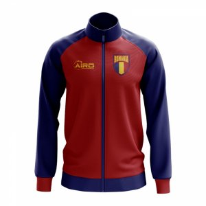 Romania Concept Football Track Jacket (Red) - Kids