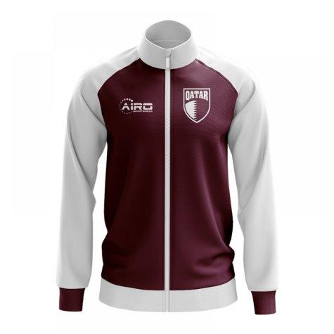 Qatar Concept Football Track Jacket (Burgundy) - Kids