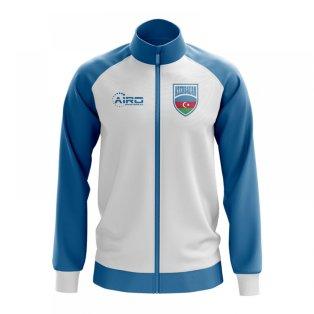 Azerbaijan Concept Football Track Jacket (White)