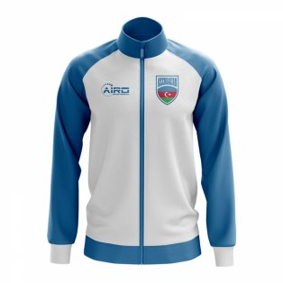 Azerbaijan Concept Football Track Jacket (White) - Kids
