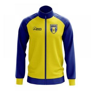 Barbados Concept Football Track Jacket (Yellow) - Kids