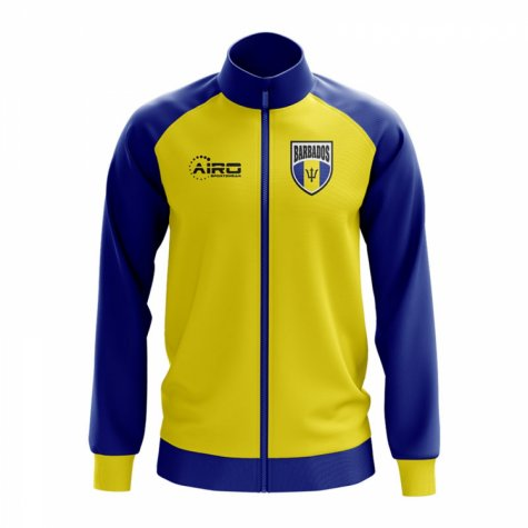 Barbados Concept Football Track Jacket (Yellow)