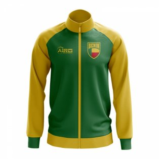 Benin Concept Football Track Jacket (Green) - Kids