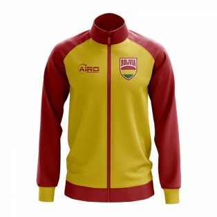 Bolivia Concept Football Track Jacket (Yellow) - Kids