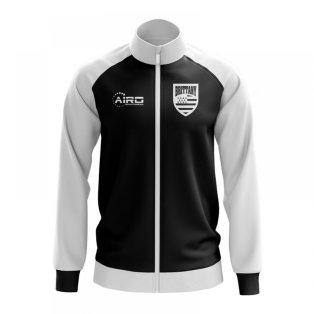 Brittany Concept Football Track Jacket (Black) - Kids
