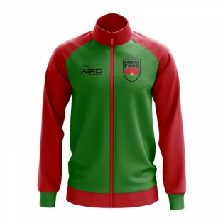 Burkina Faso Concept Football Track Jacket (Green) - Kids