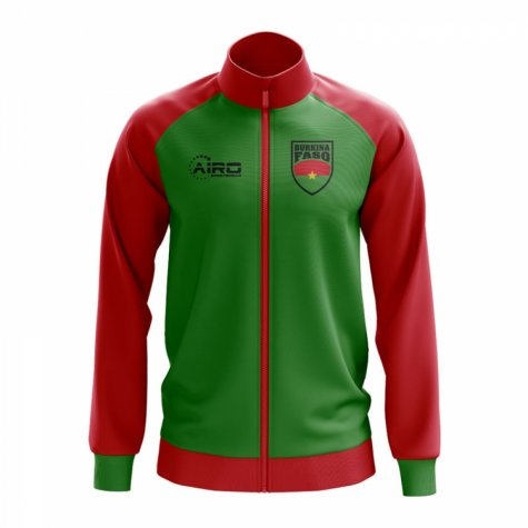 Burkina Faso Concept Football Track Jacket (Green)