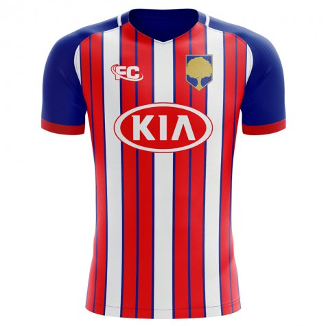 2018-2019 Atletico Madrid Fans Culture Home Concept Shirt (Kids)