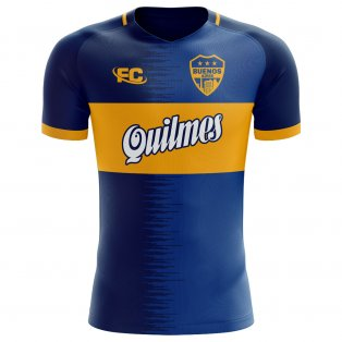 2018-2019 Boca Juniors Fans Culture Home Concept Shirt (Kids)